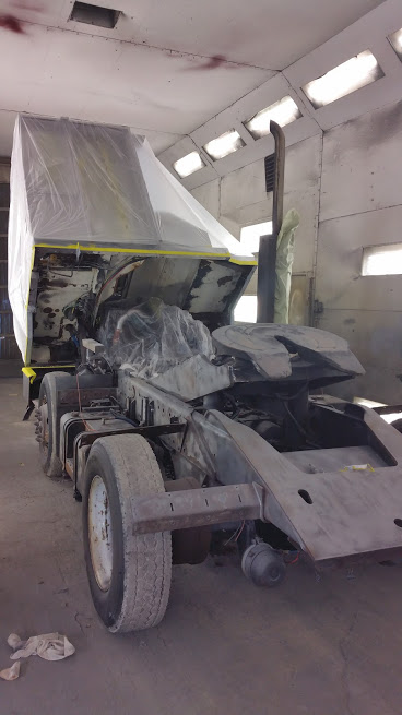 Ottawa Yard Truck Refurbishment frame